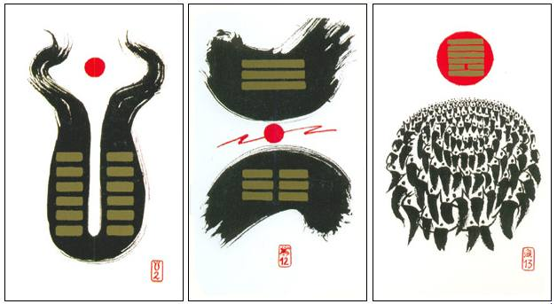 "I Ching Cards (""I Ching Holitzka"" by Klaus Holitzka)"